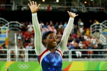 Simone Biles Takes Home the Gold In Individual All-Around!  - Jawbreaker