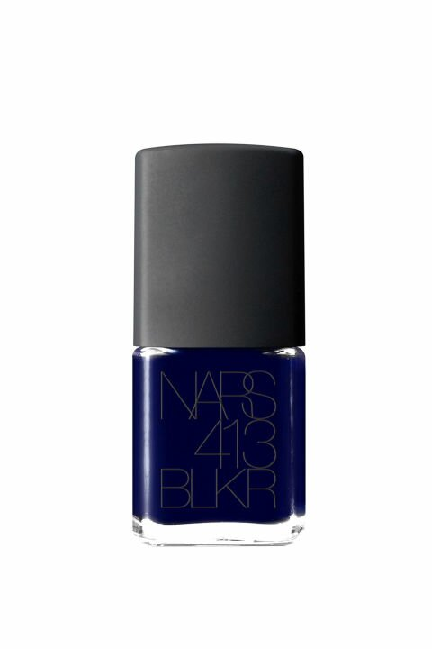 Nars Nail Polish in 413 BLKR, $20; narscosmetics.com